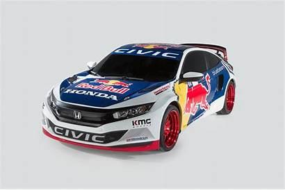 Honda Civic Coupe Race Rallycross Bull York