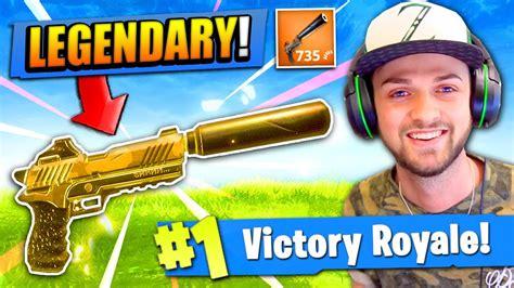 legendary pistol  fortnite battle royale youtube