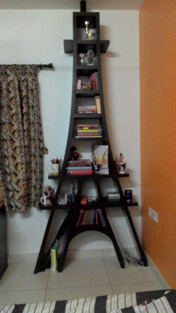 Tower Bookshelf by Eiffel Tower Bookshelf Books Tower