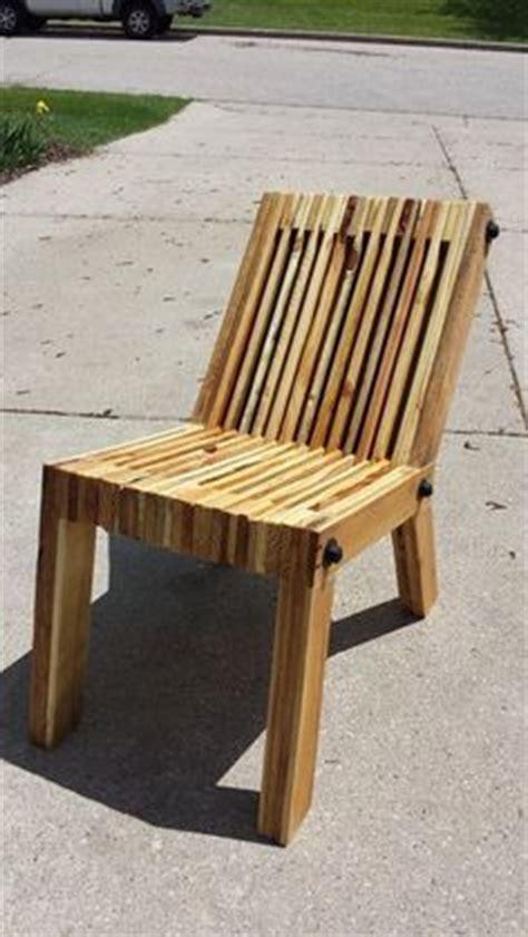 fauteuil club bois de palette bois de r 233 cup d 233 co