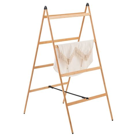 drying rack for clothes bamboo ladder clothes drying rack the container