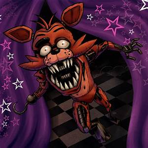 how to draw foxy the fox, five nights at freddys