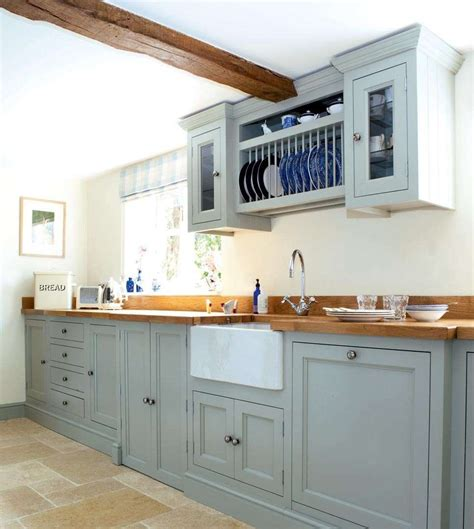 Lining Kitchen Cupboards by A Traditional Cottage Kitchen Period Living Future