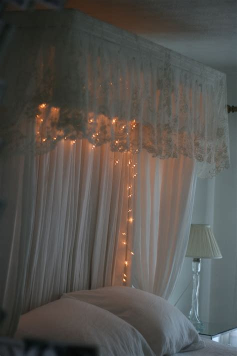 antique lace bed canopy new room