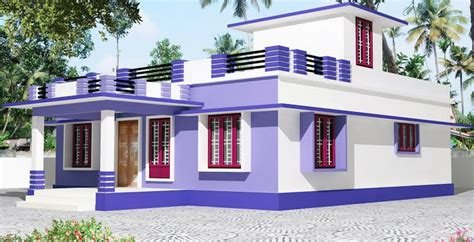 kerala single story house model home design