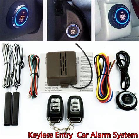 Car Auto Suv Alarm System Security Keyless Entry Push