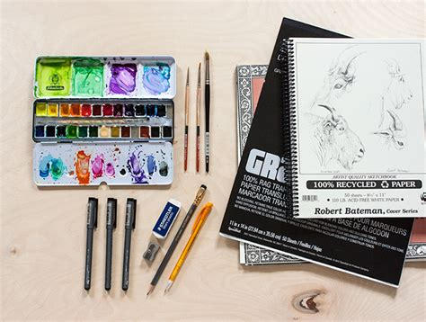 toolbox  favorite drawing supplies