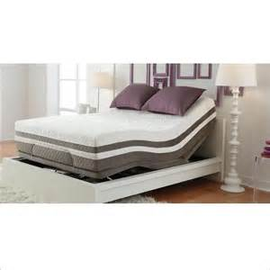 reflexion adjustable bed base with wireless remote