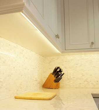 how to install led lights kitchen cabinets installing cabinet lighting elemental led 9773