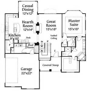 great room house plans one plan w5034cz two sided fireplace e architectural design