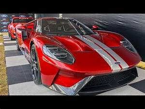 Liquid Red Ford GT Walkaround - YouTube  Ford