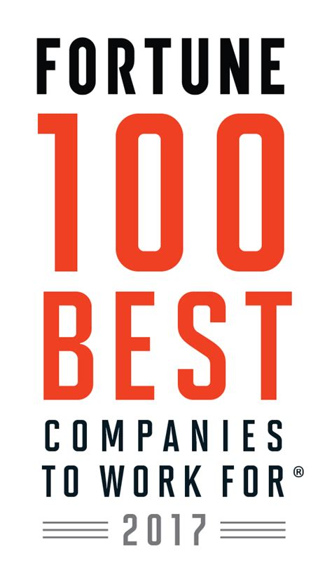 best company to work with fortune 100 best companies to work for