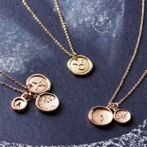 design your own necklace design your own horoscope necklace by j s jewellery