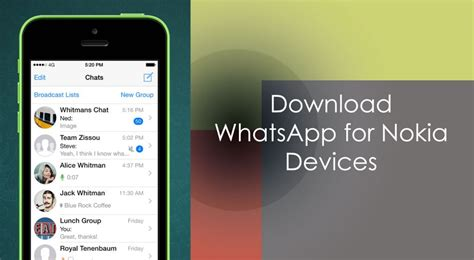 whatsapp for nokia 6 or nokia 8 version