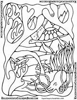 Coloring Pages Lei Undersea Template Adventure Views sketch template