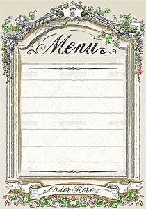 Vintage Graphic Page for Restaurant Menu by aurielaki ...