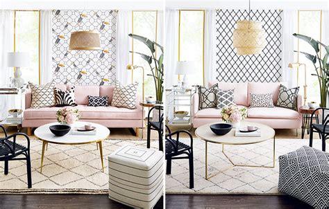 Boho Living Room  Review Home Decor