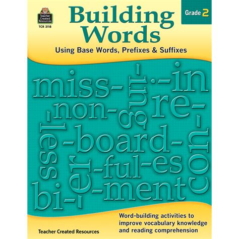 Building Words Using Base Words, Prefixes And Suffixes Gr 2  Tcr3118  Teacher Created Resources