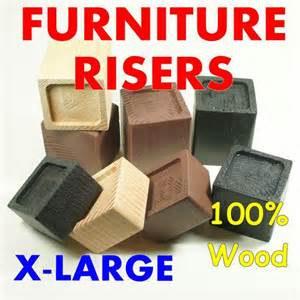 x large wood furniture riser bed sofa chair desk lifter
