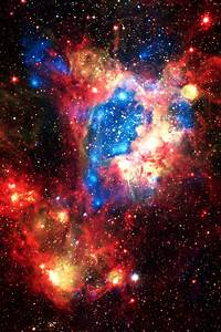 Red Supernova Explosion - Pics about space