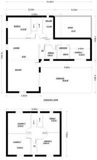 Plan Maison Etage 3 Chambres by Plan Maison Etage En L