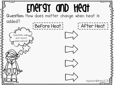 heat energy worksheet worksheets for all and