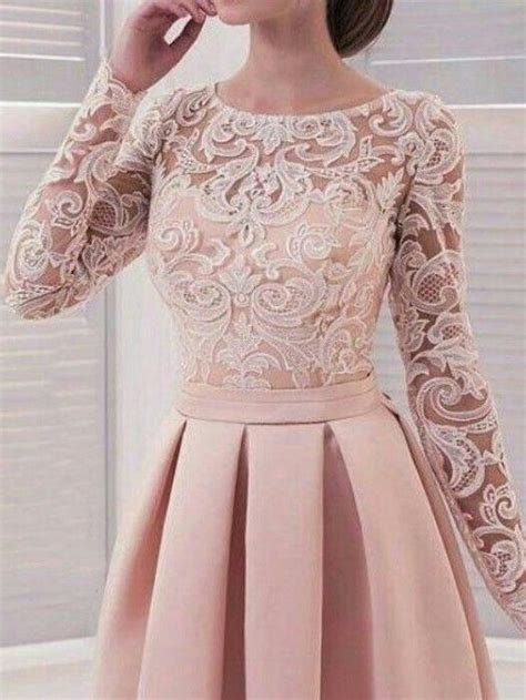 long sleeve homecoming dresses lace   simple short