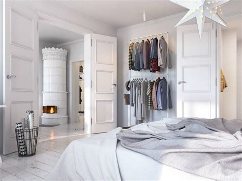 open closet ideas  small spaces