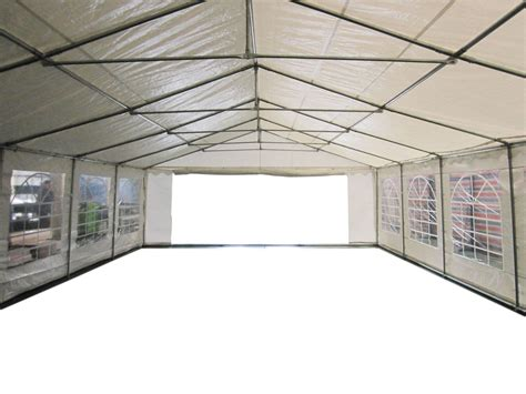 marques canap 120g outdoor garden pe gazebo marquee canopy awning