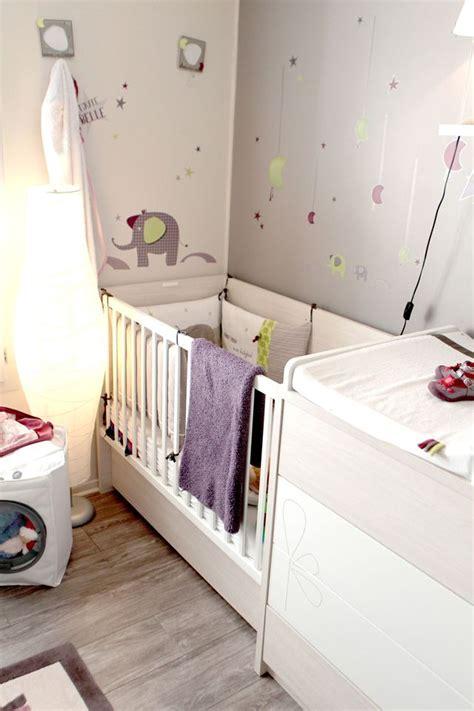 décorer une chambre de bébé aménager un coin bébé dans une chambre parentale