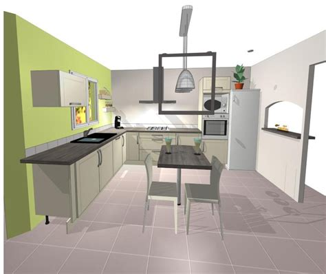plan cuisine ouverte sur salon plans de cuisines ouvertes cuisines archives designement