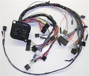 Dash Wiring Harness W   6 Cylinder  U0026 V  8 All  1971 Amc