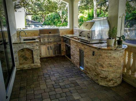 creative outdoor kitchens  florida outdoor kitchen