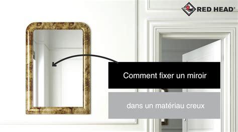 atelier n 176 65 fixer un miroir dans un mur creux