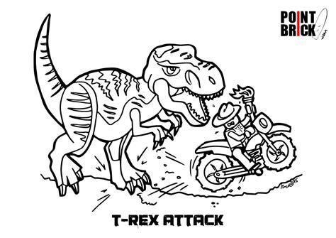 disegni da colorare dinosauri jurassic world point brick disegni da colorare lego speciale