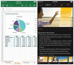 microsoft releases new word excel and powerpoint apps for With edit office documents on iphone