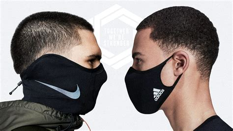 Puma, Nike And Adidas Step Up The Style As Face Masks