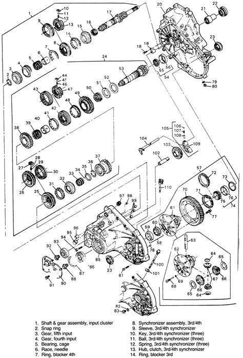 repair guides manual transaxle  speed  muncie