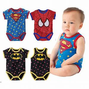 new 2016 Summer newborn baby boy girl clothes Cute cartoon ...