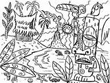 Coloring Hawaii Pages Tiki Luau Hawaiian Drawing Mask Island Fun Tony Printable Sheets Flower Masks Template Mythical Getdrawings Super Adult sketch template