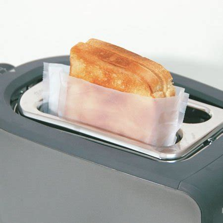 Toaster Bags by Toast It Model 1814 Reusable Toaster Bags 2 Pack