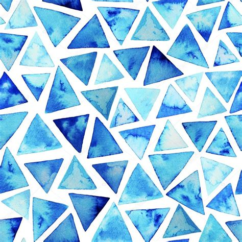 pattern with watercolor triangles stock photo 169 gevko93