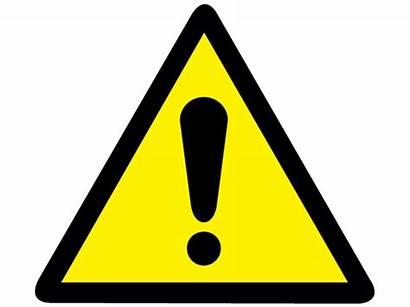 Caution Symbol Clipart Label Sign Source Violation