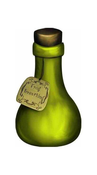 Potion Bottle Clipart Halloween Bottles Boo Boogie