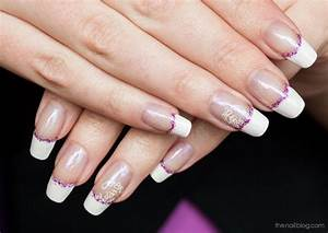 12 White French Tip Nail Designs Purple Images - Purple ...
