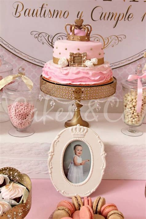Pink And Gold 1st Birthday Decorations by Pink Gold Princess 1st Birthday Via Kara S