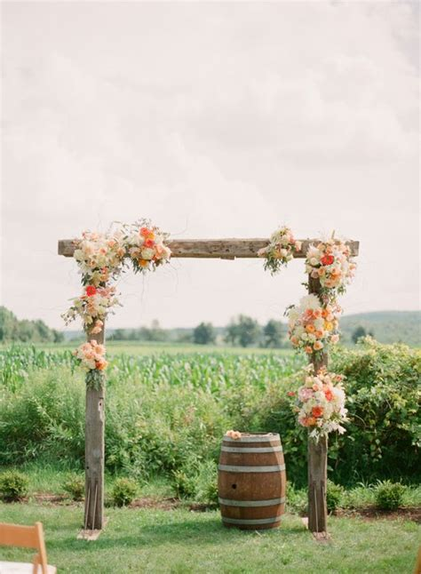 27 Fall Wedding Arches That Will Make You Say 'i Do
