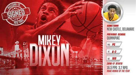 depreps st johns signs transfer mikey dixon
