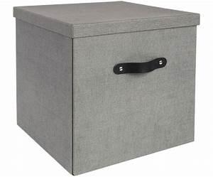 Aufbewahrungsbox Für Auflagen : aufbewahrungsbox in grau bigso box of sweden westwingnow ~ Indierocktalk.com Haus und Dekorationen