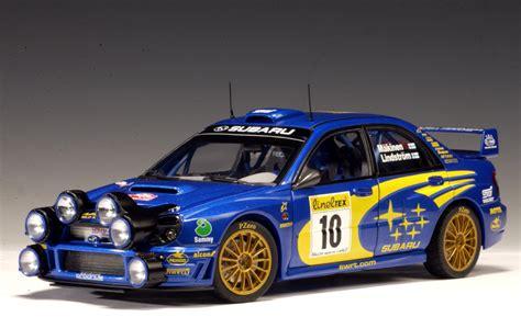 subaru autoart autoart 2002 subaru impreza wrc t makinen k lindstrom